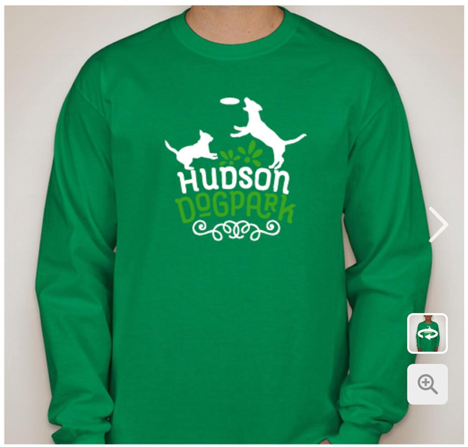hudson dog park - tank shirt