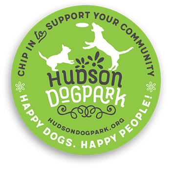 Support Hudson Dog Park Decal